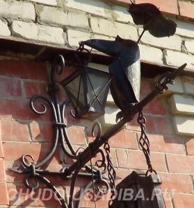 художественная ковка - номер дома