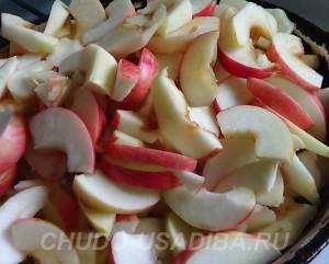яблочная шарлотка рецепт приготовления