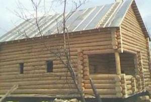 деревянная баня бревно
