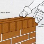 строительство бани - тычковая кладка