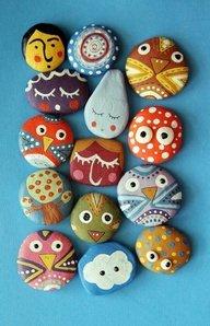 декоративные камни - фото