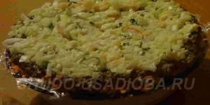 праздничный салат - картинки
