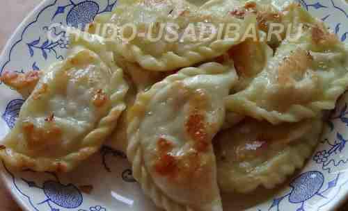 вареники с картошкой - фото