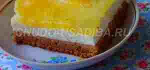 творожное суфле - торт